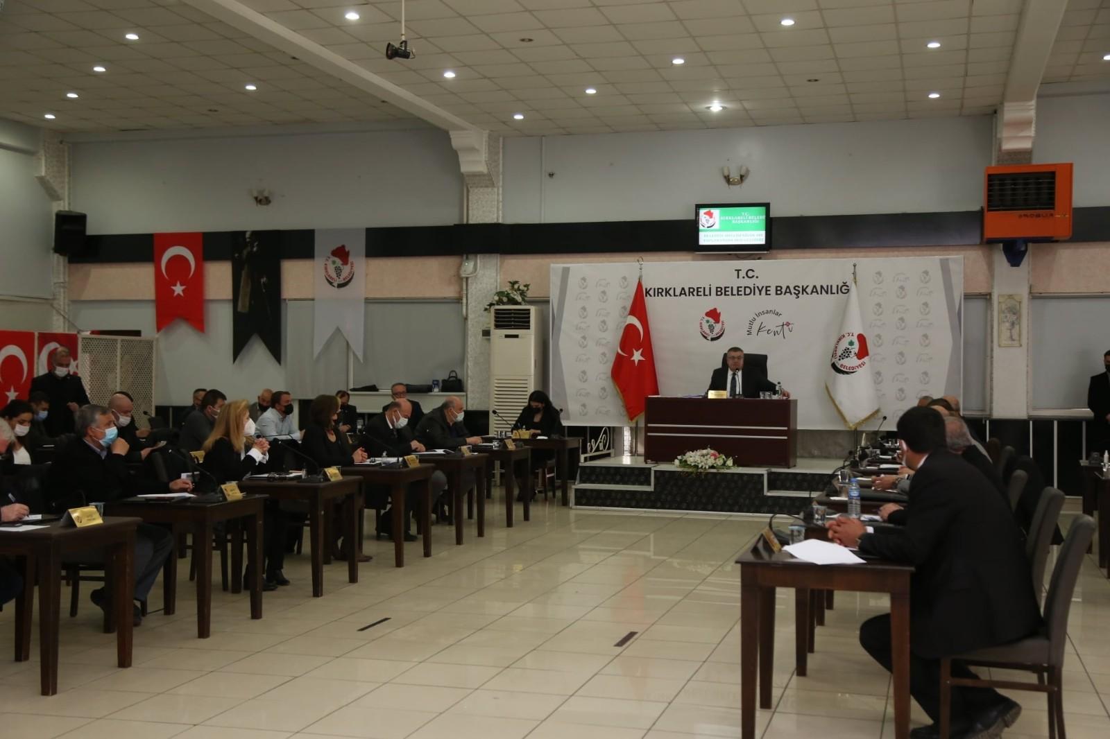 Kırklareli Belediyesi Meclisi'nden Filistin için adalet ve insan hakları çağrısı
