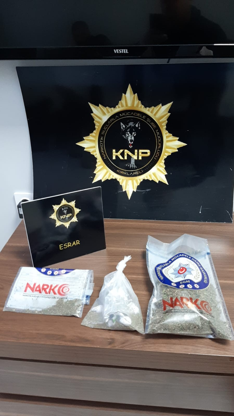 Kırklareli'nde uyuşturucu operasyonu, 5 şüpheli yakalandı
