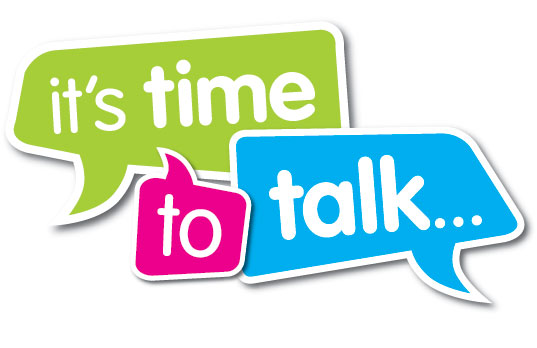 It's time to talk