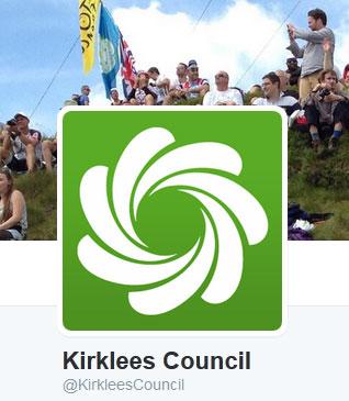 Kirklees Council twitter logo