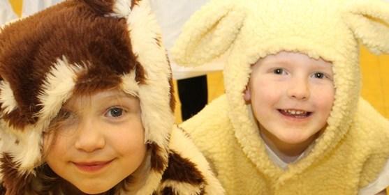 Primary School Places - children in school play