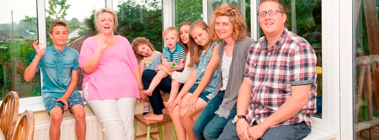 Shared Lives - Lisa with her shared lives family