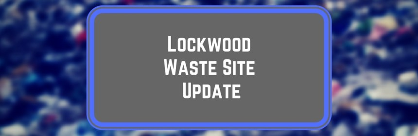 Waste site update