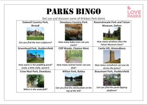 Parks Bingo_LoveParksWeek