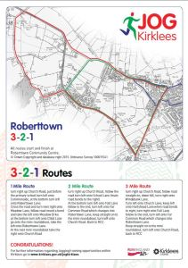 Roberttown Park 321 Route