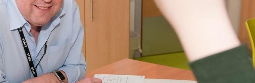 John Hill, trainee teacher from Kirklees and Calderdale SCITT