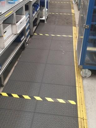 2m Floor Markings - Cummins Covid 19