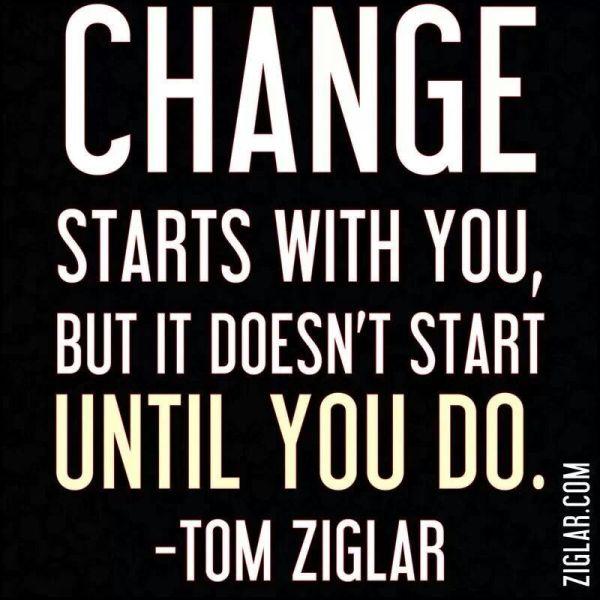 Промяната започва от теб