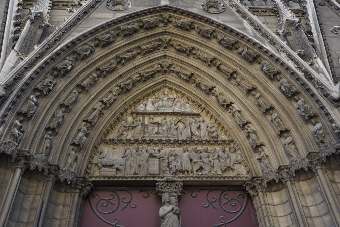Notre Dame Tympanum