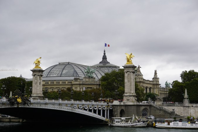 Grande Palais across the Seine