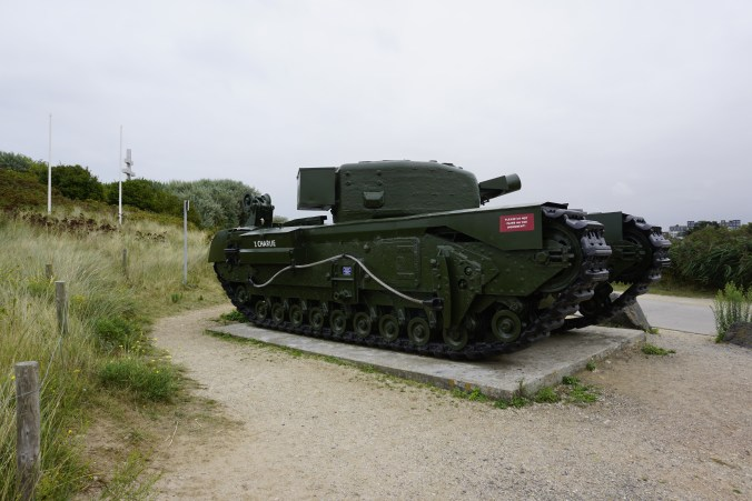 British Crocodile Tank at Juno Beach
