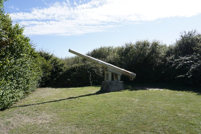Gun That Would Have Been in Emplacements
