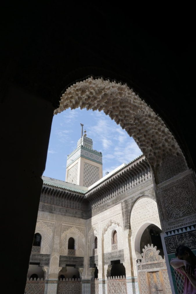 Minaret at the Madrasa