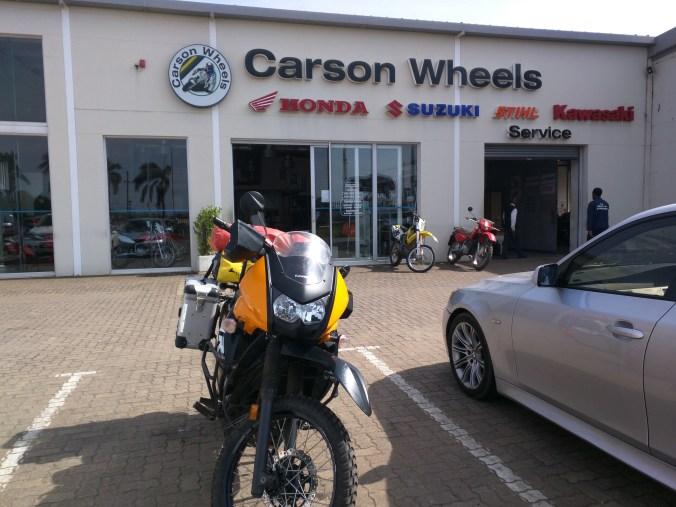 All Clean at Carson Wheels