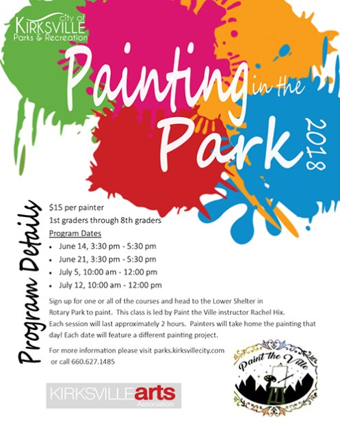 paintintheparkposter