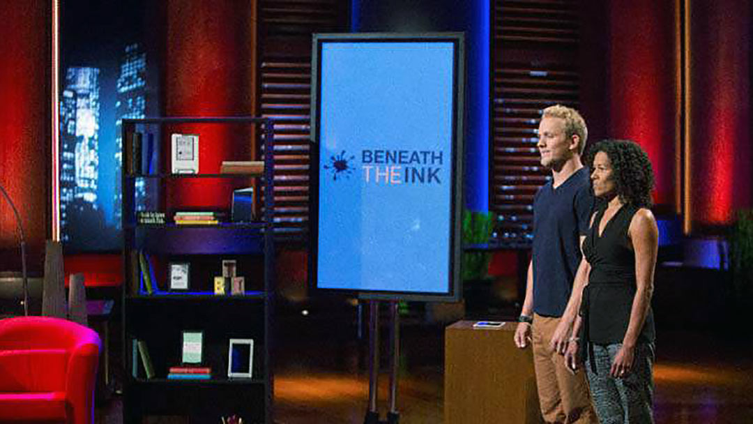 Beneath the Ink -Shark Tank no deal, but cool technology