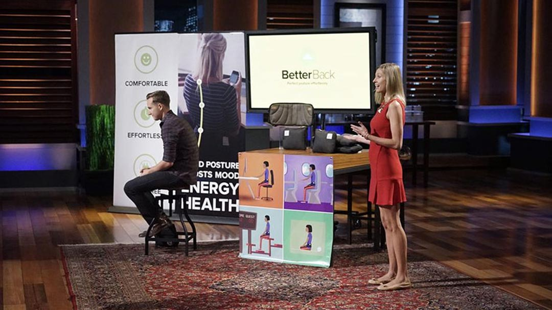 BetterBack Shark Tank Pitch and After Show Update on Lori Greiner Deal