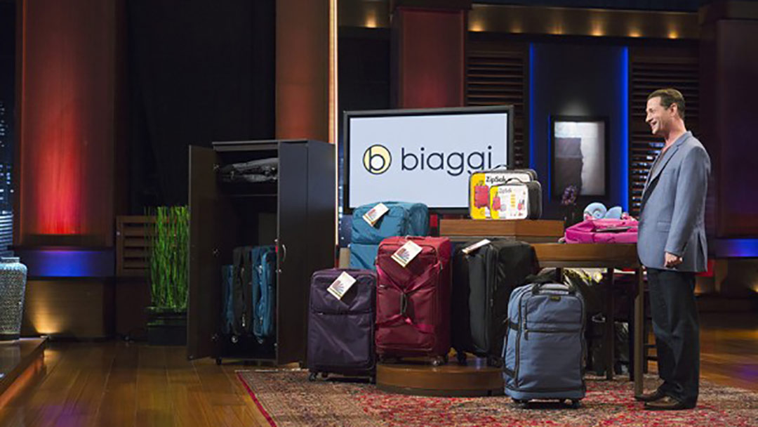 Biaggi Luggage Bags deal with Shark Tank's Lori Greiner