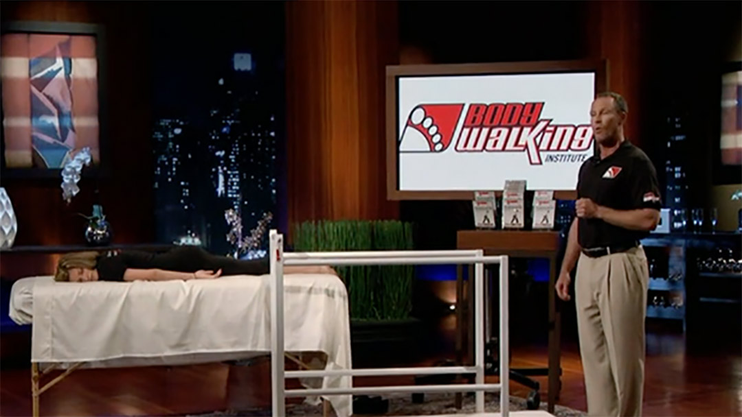 Bodywalking massage therapy by Tod Miller Pitches Shark Tank with No Deal