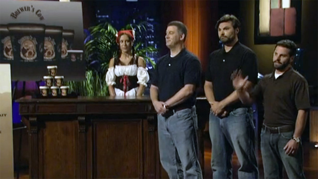 Brewer's Cow Ice Cream Team had too much beer before Shark Tank Pitch