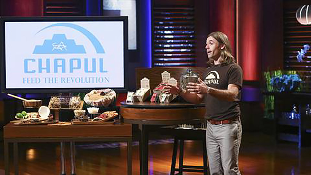 Chapul Cricket Protein Shark Tank Pitch Mark Cuban Deal