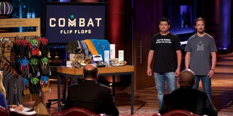 Combat Flip Flops - Shark Tank