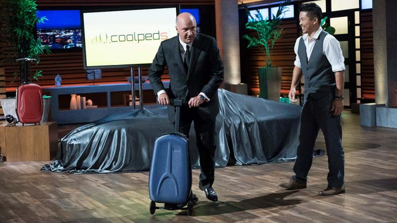 Coolpeds - Ampere Motors - Shark Tank