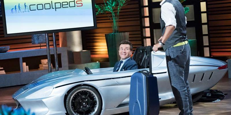 Coolpeds - Ampere Motors - Shark Tank