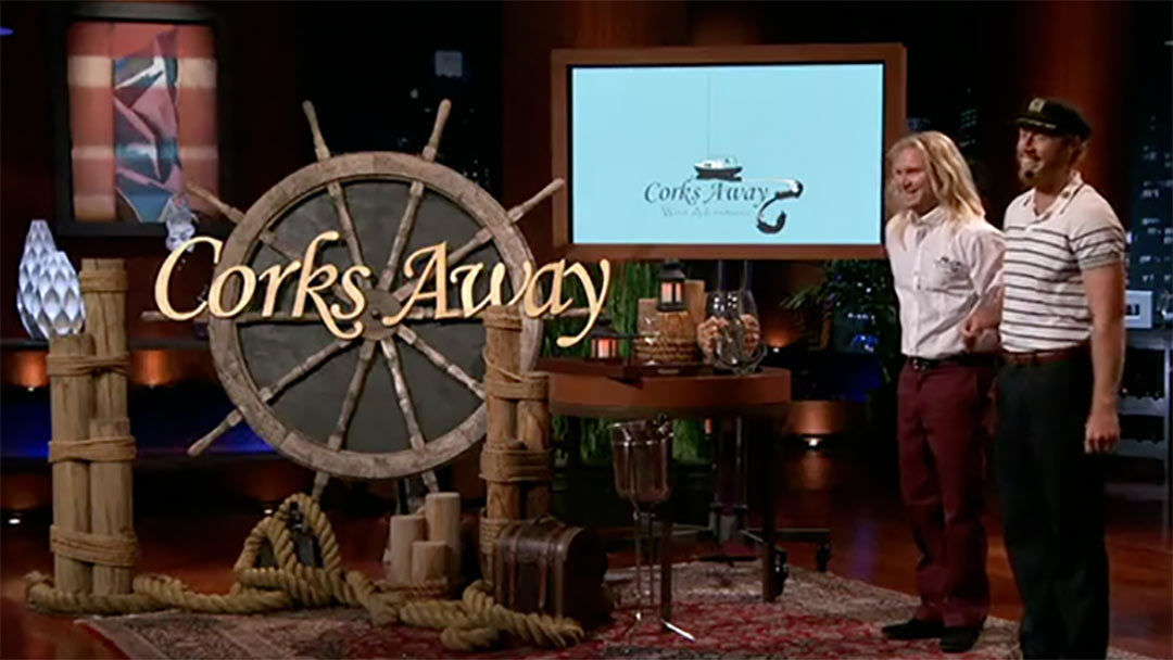 Corks Away Shark Tank pitch has them walk the plan, the Ship has sunk!
