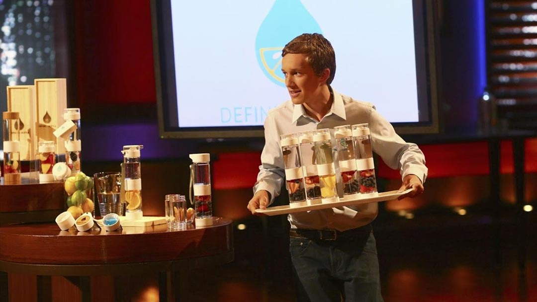 Define Bottle Shark Tank Offer by Robert Herjavec