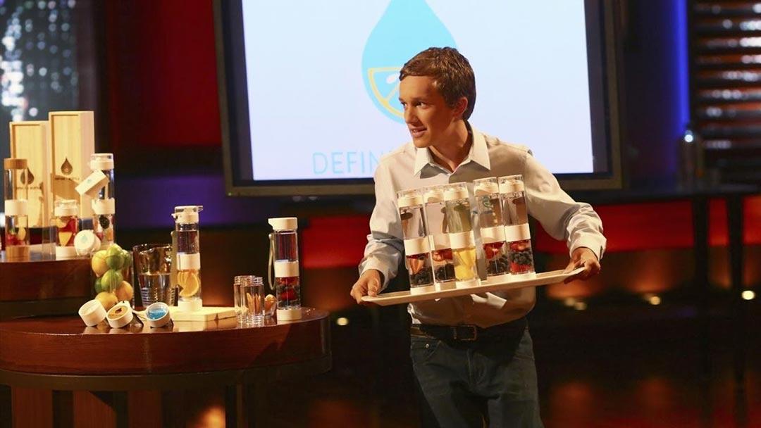 Define Bottle Shark Tank Offer by Robert Herjavec