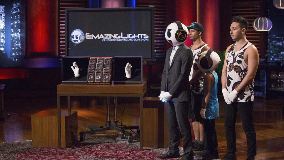 Gloving lights up Shark Tank with million dollar EmazingLights offer