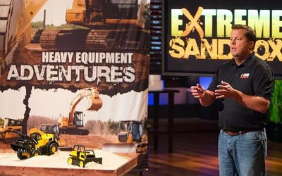 Extreme Sandbox Heavy Equipment Scores Shark Tank Deal Cuban O
