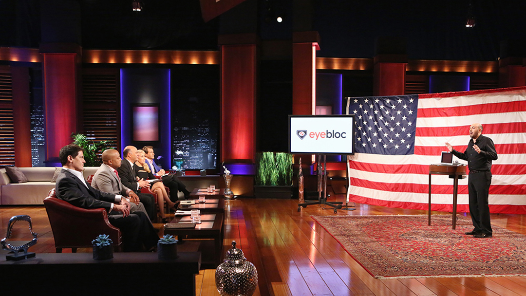 No go for eyebloc computer camera blocker on Shark Tank