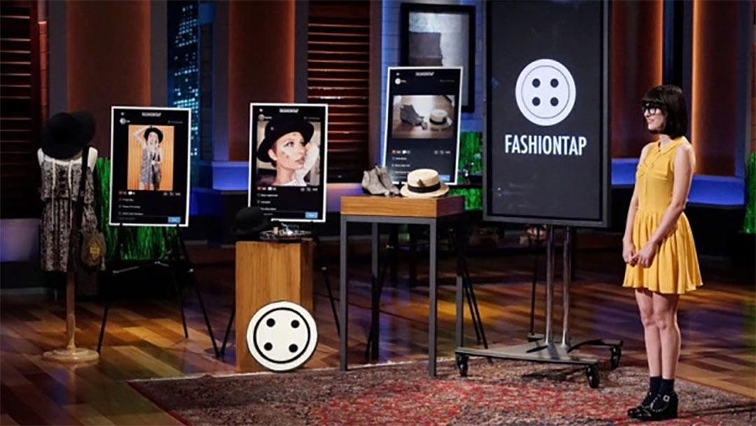 FashionTap Fashion Blog with Affiliate Marketing Twist in Shark Tank Pitch