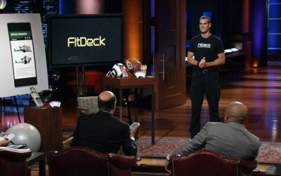 Fitdeck Fitness Training Card Deck Acquired after Shark Tank Appearance