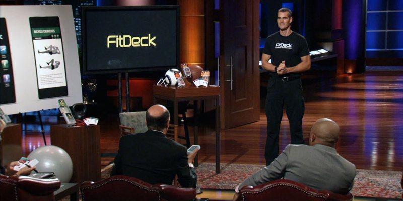 FitDeck - Shark Tank