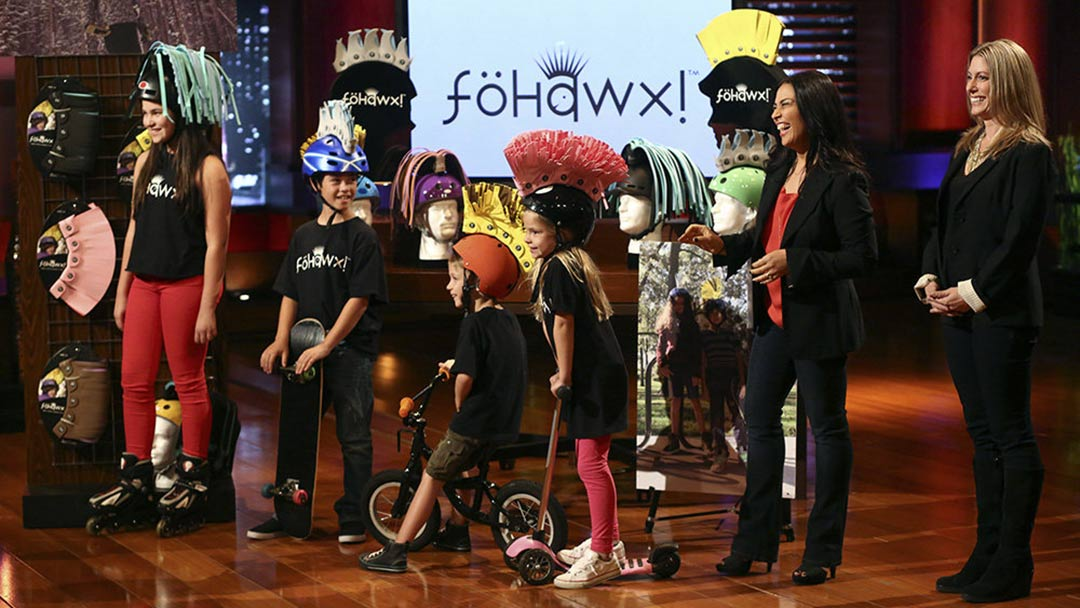 Fohawx helmet decoration Shark Tank pitch goes south for no deal