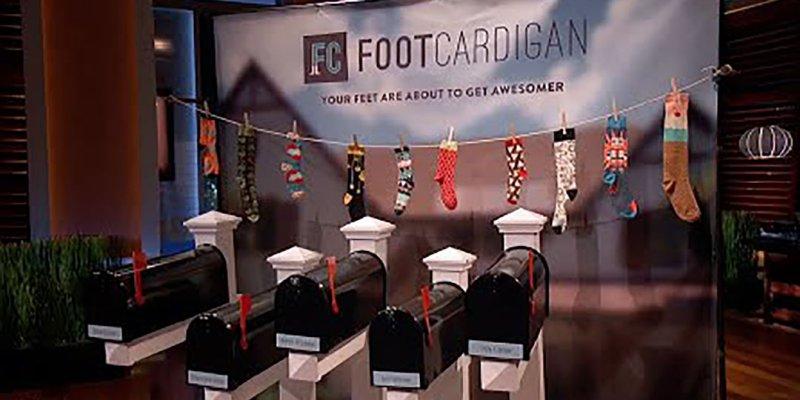 Foot Cardigan - Shark Tank Socks