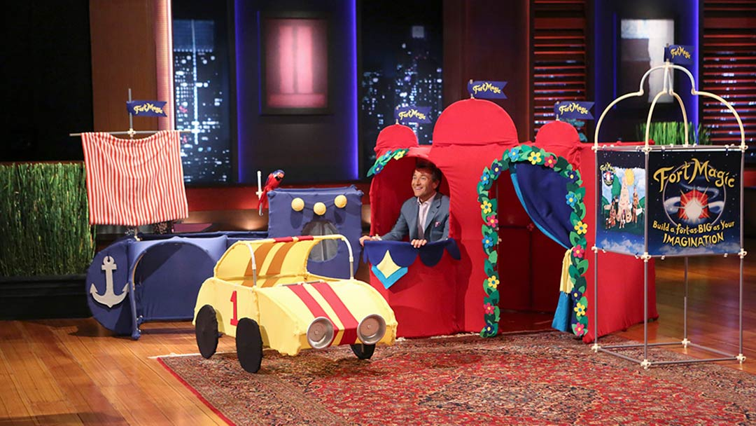 Fort Magic Kit on Shark Tank