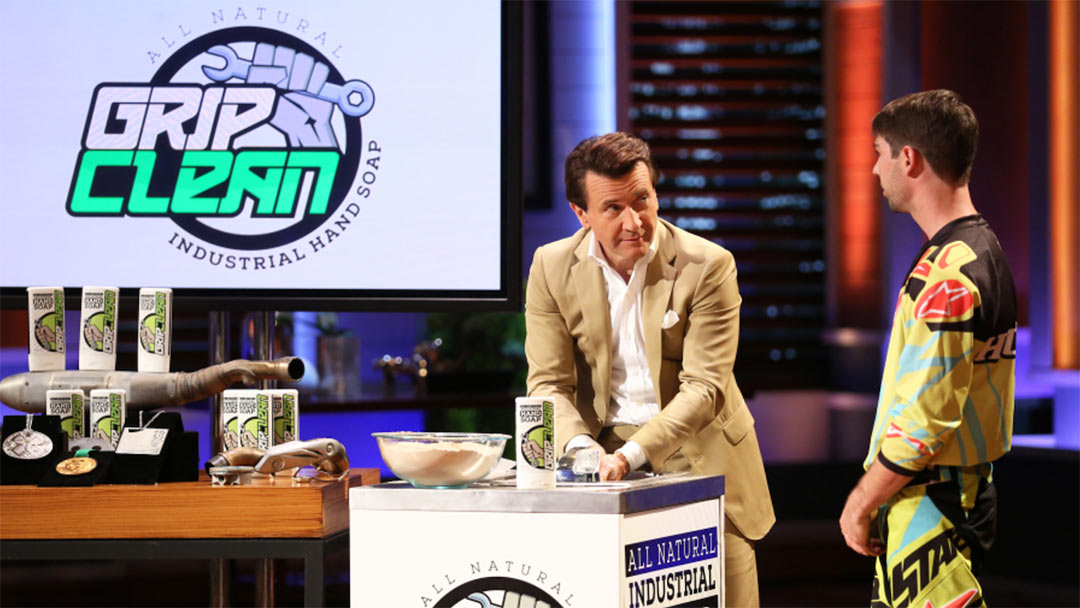 Grip Clean gets Shark Tank Deal with Lori Greiner – Their cleaning up