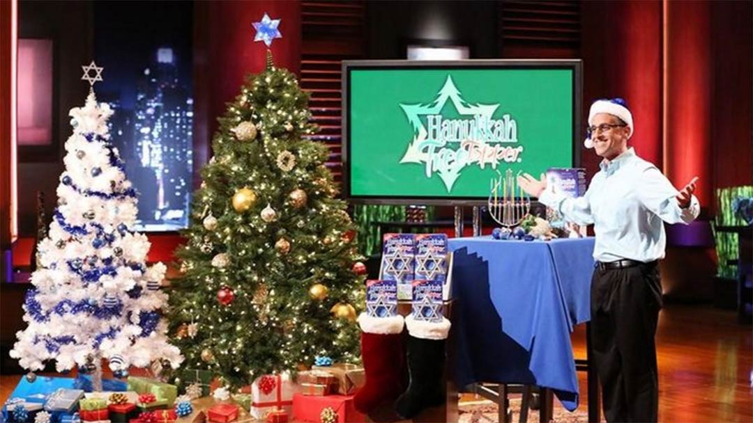 The Hanukkah Tree Topper Shark Tank Pitch and After Show Update