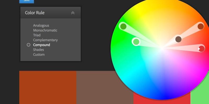 kind of content - Adobe color cc