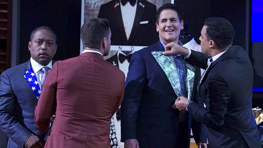 The Lapel Project Tuxedo Suit Jacket Shark Tank Mark Cuban Deal