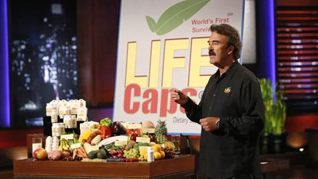 LifeCaps – Survival Pill  emergency food supplement pitched in Shark Tank