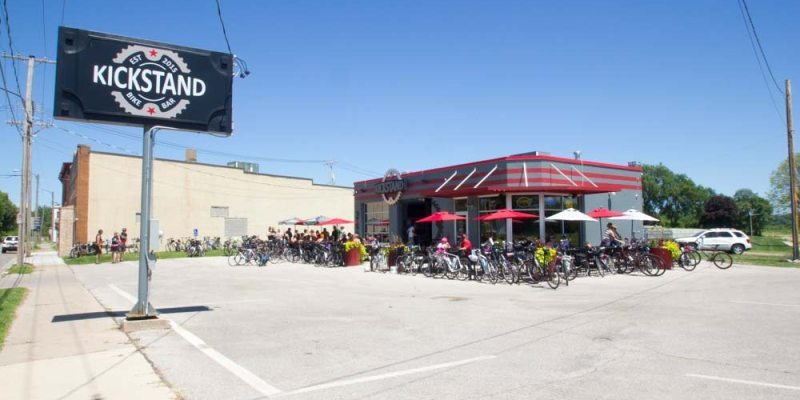 Modern Day Biker Bar