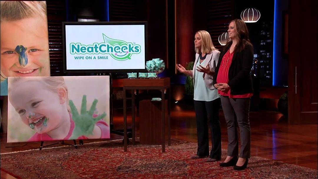 NeatCheeks – From Napkin Lemonade to Shark Tank Deal