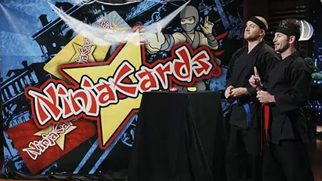Ninja Cards tortured on Shark Tank, but selling online today!