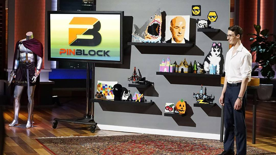 Pinblok Building Blocks Shark Tank Pitch and offer from Kevin O'Leary