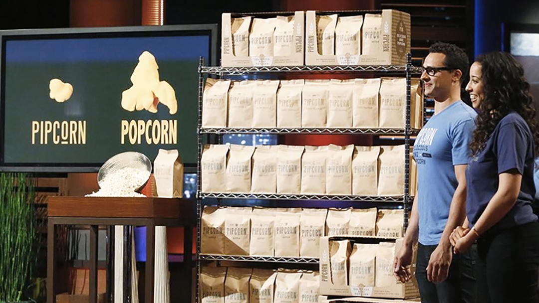Pipsnacks Pipcorn popcorn alternative – Shark Tank deal Barbara Corcoran